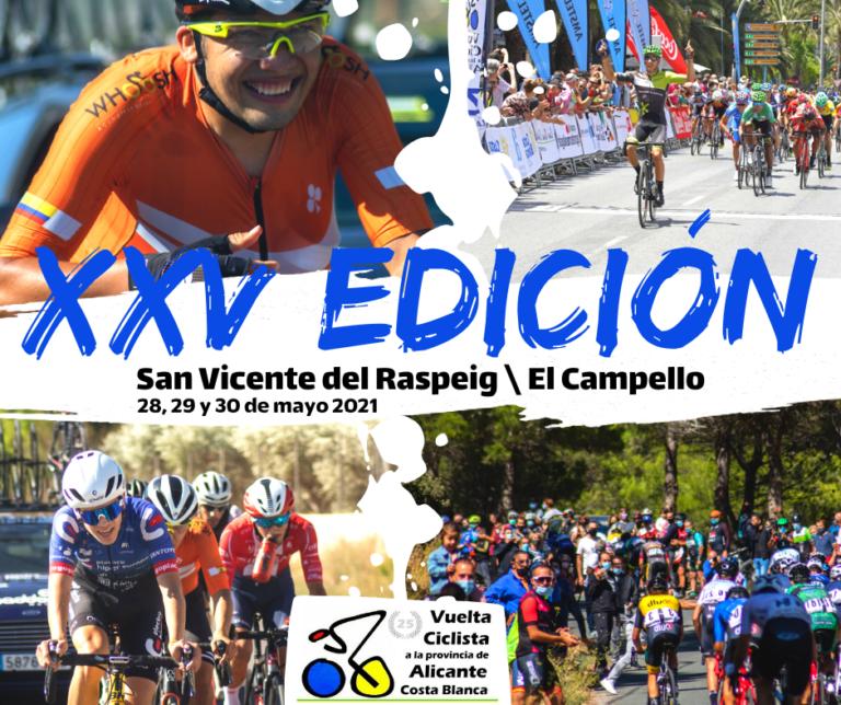 La Vuelta Ciclista a la Provincia 'Costa Blanca' llega este fin de semana de la mano de la Diputación