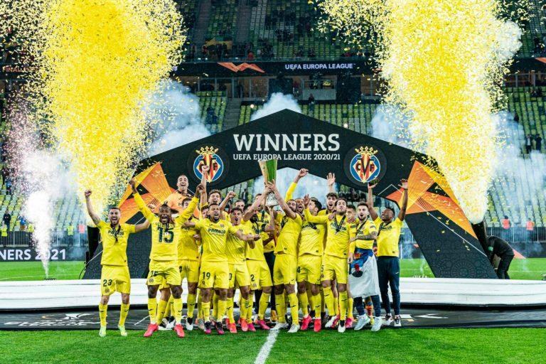Mario Gaspar y el Villarreal CF consiguen la UEFA Europa League