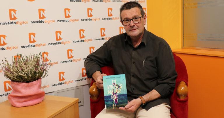 «Tú vivirás mejor que yo», el nuevo libro del noveldense Ramón Martínez Piqueres