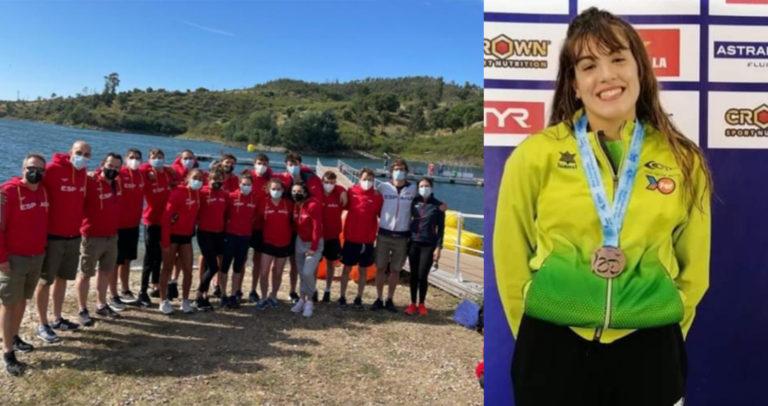 Doblete de medallas para Sara Micó en el Open Portugal Aguas Abiertas