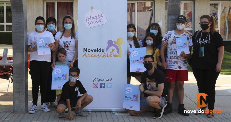 La asociación Novelda Accesible renueva su imagen corporativa