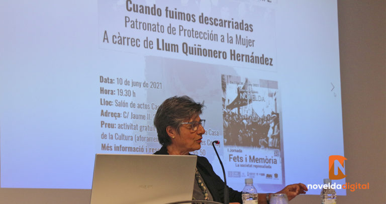 """Novelda acoge la conferencia """"Cuando fuimos descarriadas"""""""