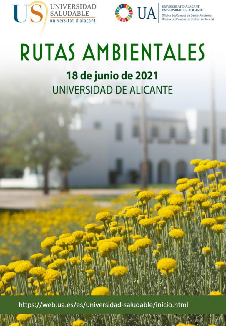 La Universidad de Alicante celebra el Día Mundial del Medio Ambiente con actividades abiertas a todo el mundo
