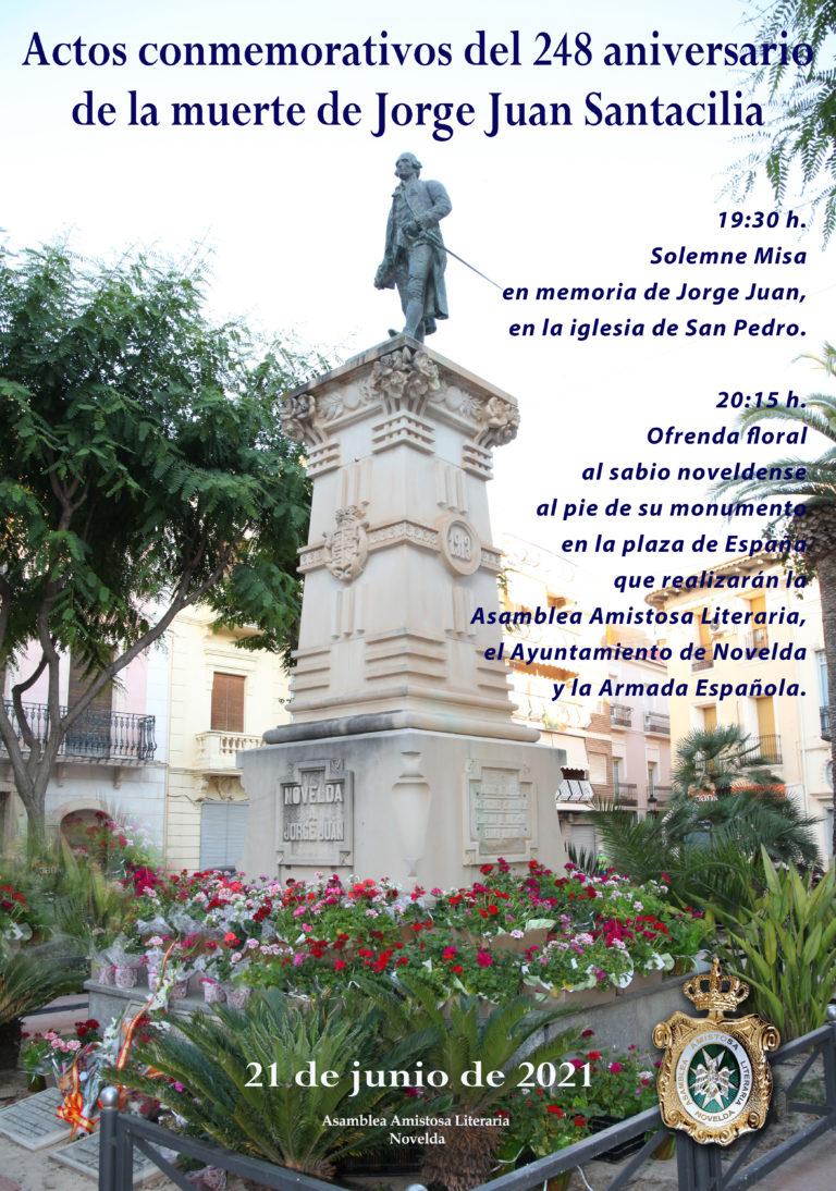 Conmemoración del 248 aniversario de la muerte de Jorge Juan