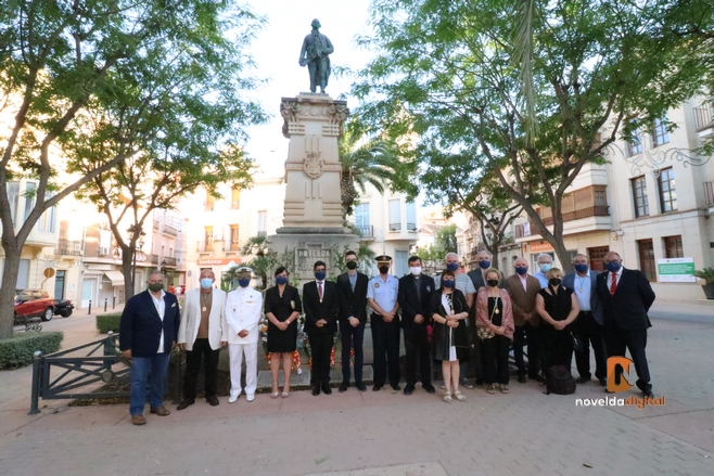 La Asamblea Amistosa Literaria rinde homenaje a Jorge Juan en el día de su muerte