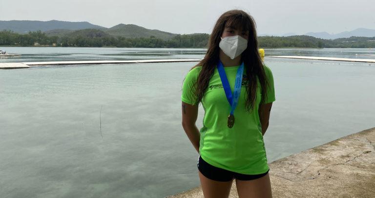 La nadadora Sara Micó sigue sumando medallas y ha sido seleccionada para representar a España en el Campeonato de Europa Junior en Aguas Abiertas
