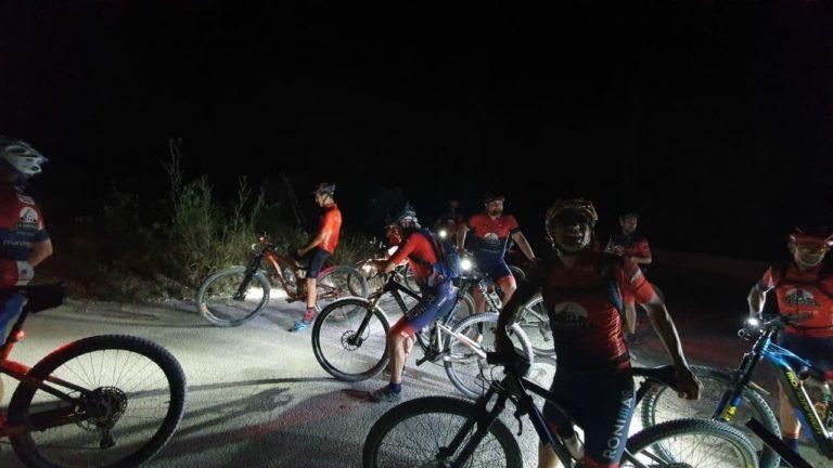 El Club Unión Ciclista Novelda realizó su tradicional prueba nocturna