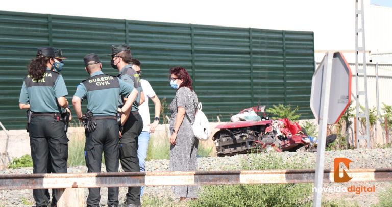 El arrollamiento de un coche por un tren deja 4 fallecidos en el barrio de la Estación