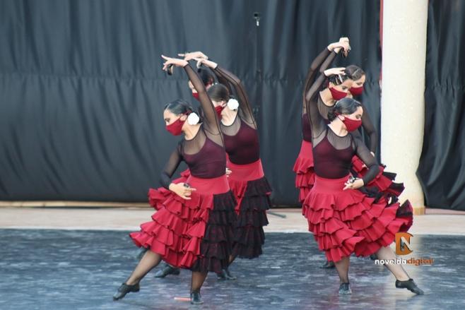 El Conservatorio de Danza cierra el curso con una Gala en el parque Viriato
