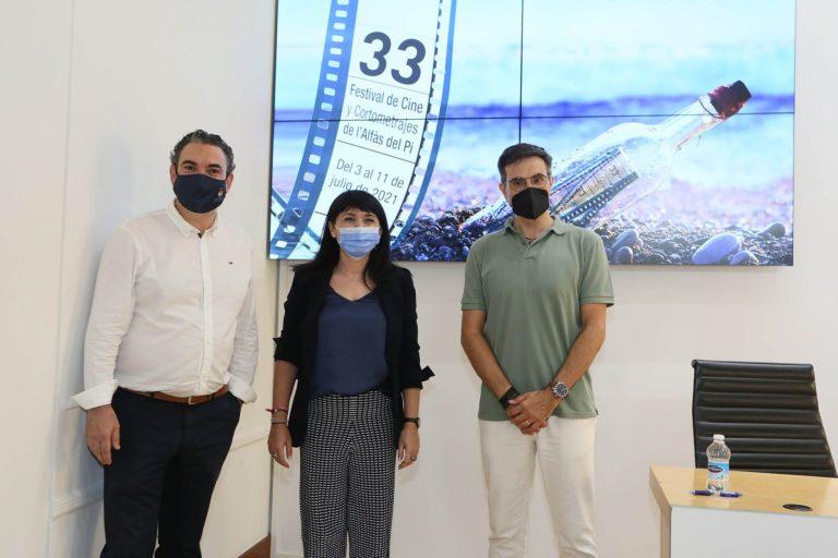 La Diputación renueva su compromiso con el Festival de Cine de l'Alfàs del Pi que este año rinde homenaje a Berlanga