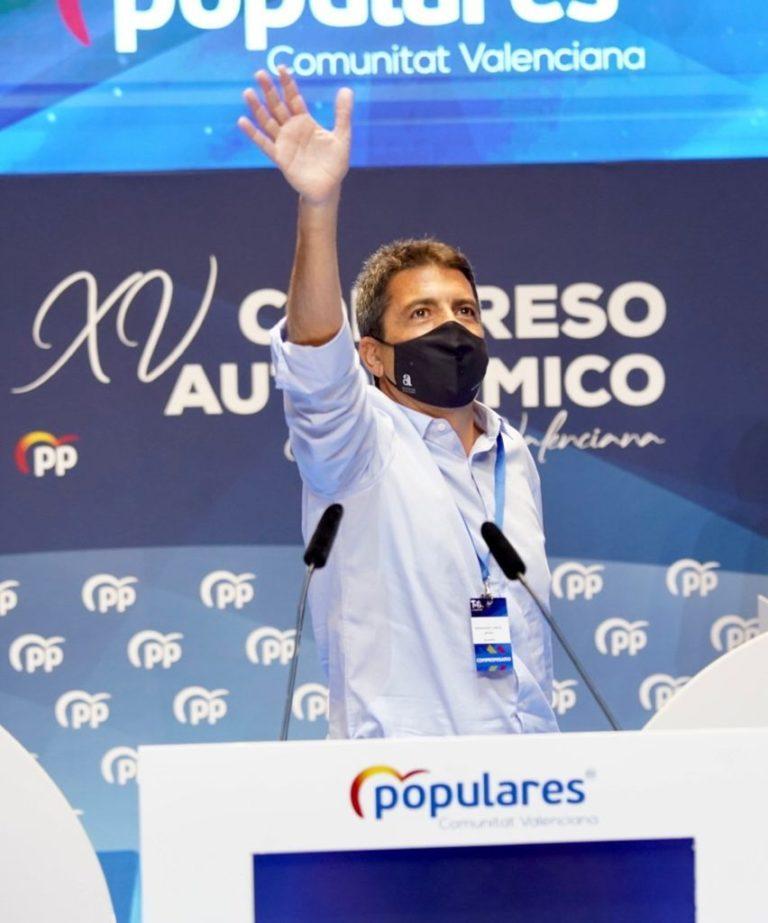 Carlos Mazón presidente del Partido Popular de la Comunitat Valenciana. (Ver organigrama)