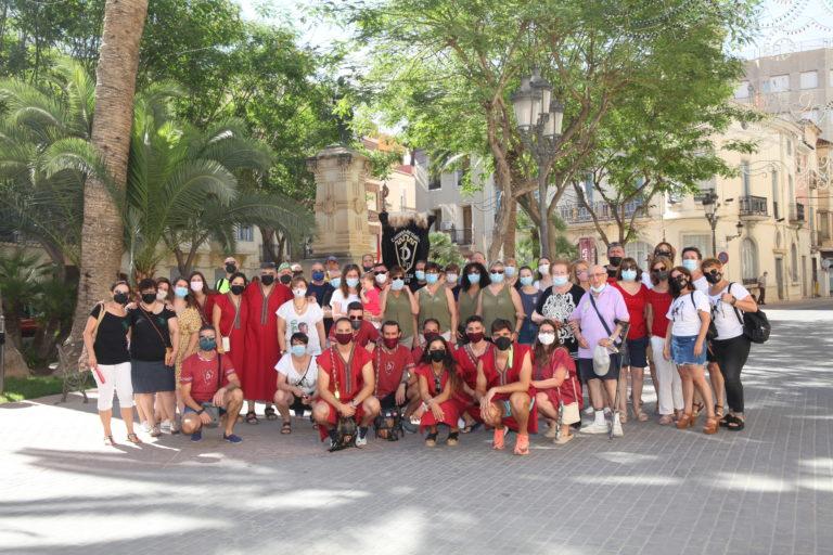 Tradicional Misa de la comparsa Negres Betànics en Honor a la Santa 2021
