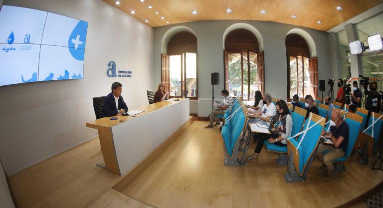 La Diputación activa el Plan +Agua y refuerzacon10 millones de euros las inversiones en materia hídrica