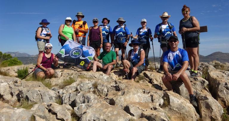 El Club Novelder de Muntanyisme sube por primera vez a la Sierra de Oltà