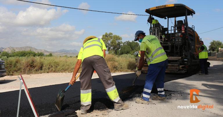 Se inicia la segunda fase del Plan Municipal de Asfaltado de Caminos Rurales