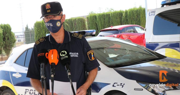 Resumen de las actuaciones policiales durante el fin de semana