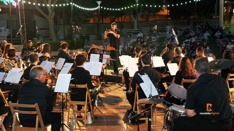 Música a la fresca con la Sdad. Musical Stª Mª Magdalena