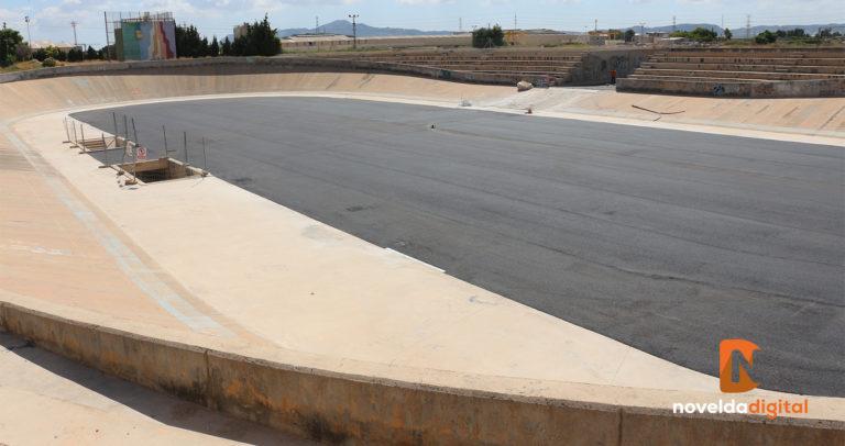 La empresa que abandonó las obras del velódromo hace 11 años paga al Ayuntamiento más de 27.000 euros
