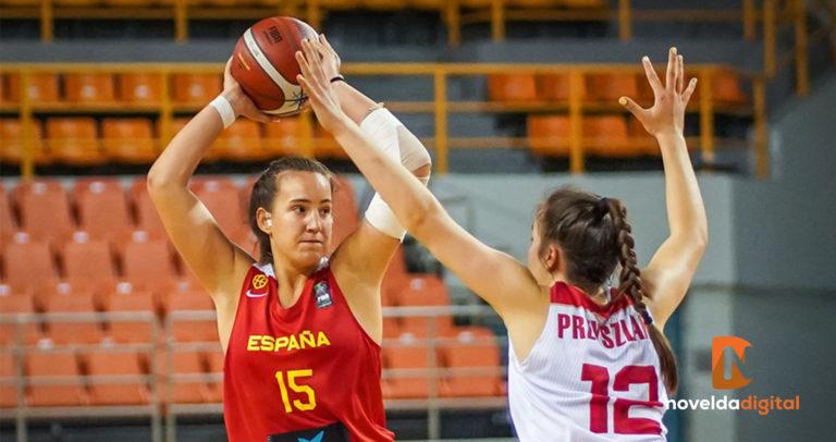 La noveldense María Isabel Galiana Miralles, convocada por la Selección Española de Baloncesto SUB18, ha logrado el segundo puesto en el FIBA Challenger U18 de Heraklion (Grecia)