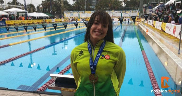 La nadadora Sara Micó gana el Campeonato de España junior en 400 metros y en 1.500 libres