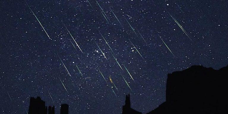 Esta noche lluvia de estrellas donde se podrán ver 100 meteoros por hora