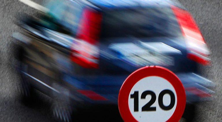 La Guardia Civil intercepta en Monforte del Cid un vehículo que circulaba a 213 km/hora