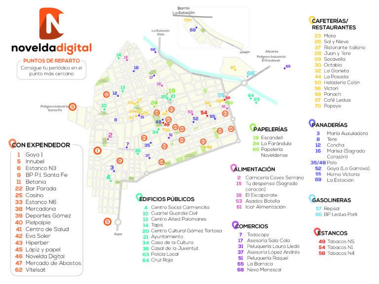 Sale a la calle la edición impresa de agosto de Novelda Digital