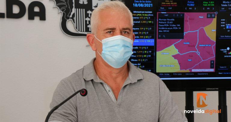 El equipo de Gobierno lamenta el fallecimiento de dos personas debido al Covid-19 y pide a la población que continúe con la responsabilidad social e individual y que accedan a vacunarse