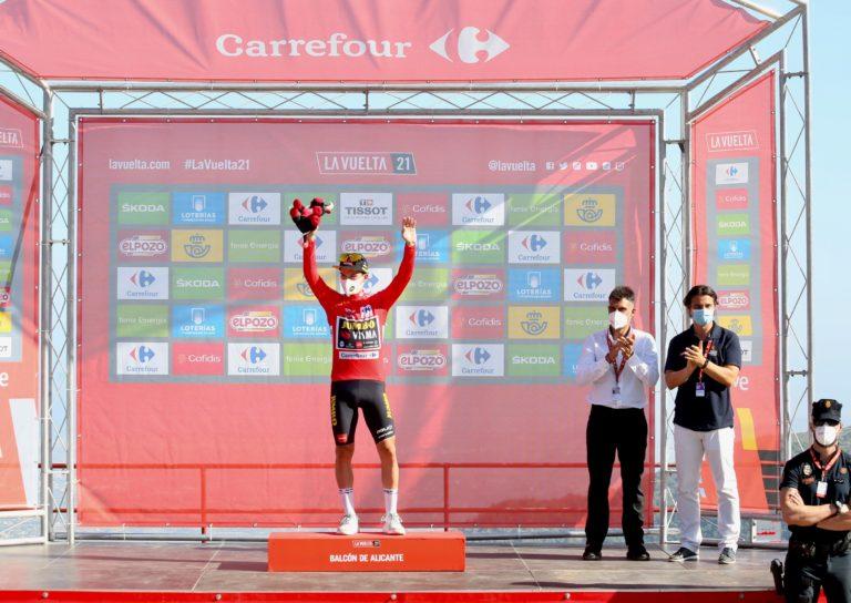 El interior de la provincia ha protagonizado hoy viernes la séptima etapa de La Vuelta 2021 que impulsa la Diputación