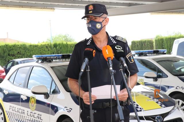La Policía Local detecta una nueva fiesta ilegal en una finca de La Serreta