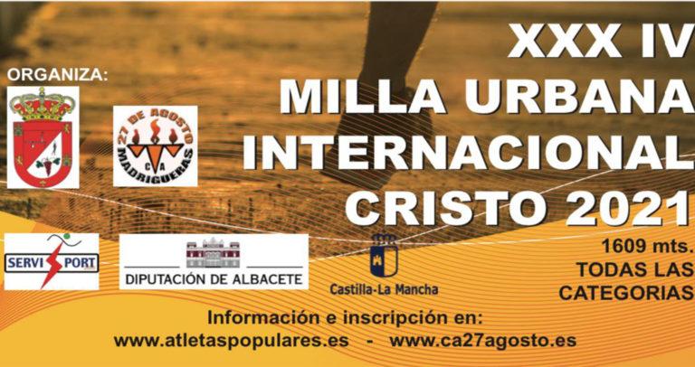 Àngels Palomares triunfa en la Milla Internacional de Madrigueras y el Club Atlético Novelda Carmencita ultima su puesta a punto