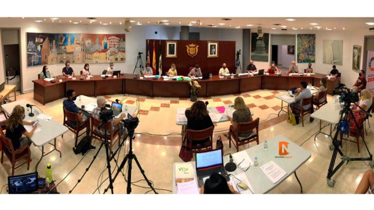 El pleno aprueba las obras para la mejora del alcantarillado en tres puntos concretos de Novelda por valor de 463.000 euros