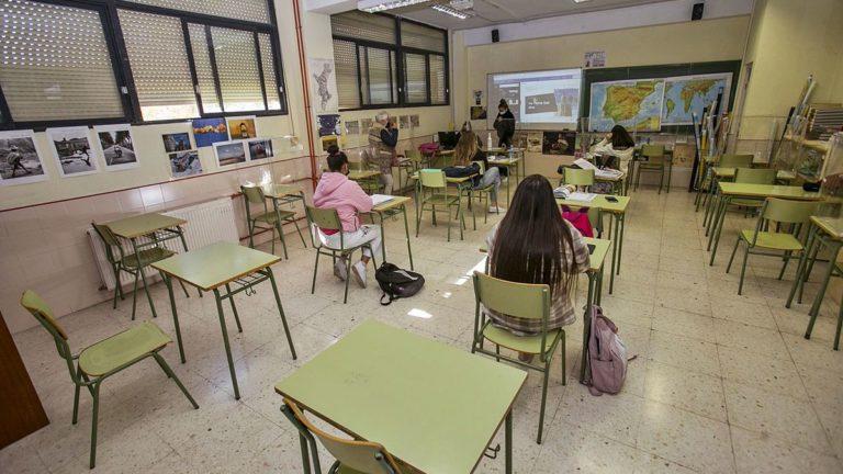Tras la primera semana de clases el 98,6% de los centros educativos no tienen ningún grupo confinado