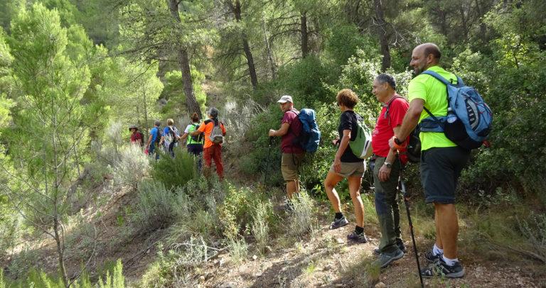 El Club Novelder de Muntanyisme visita la Sierra de la Pila (Murcia)