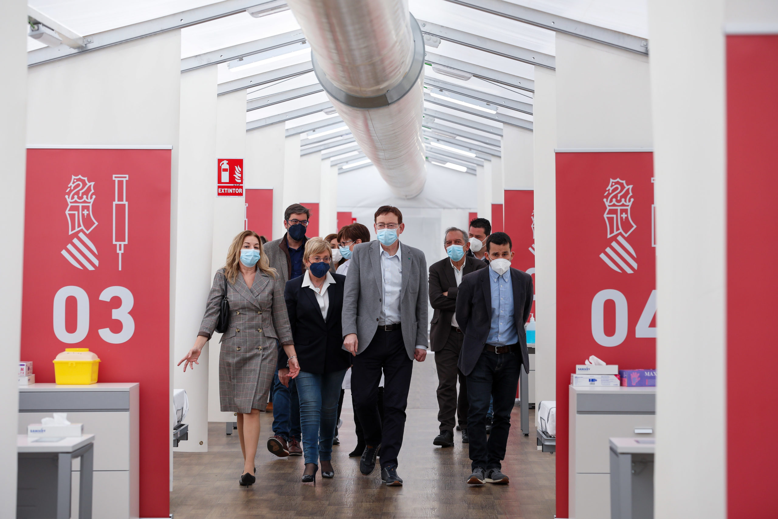 Ximo Puig avanza la apertura de una «nueva etapa de apertura progresiva» a partir del próximo lunes con la vacunación del 90% de la población