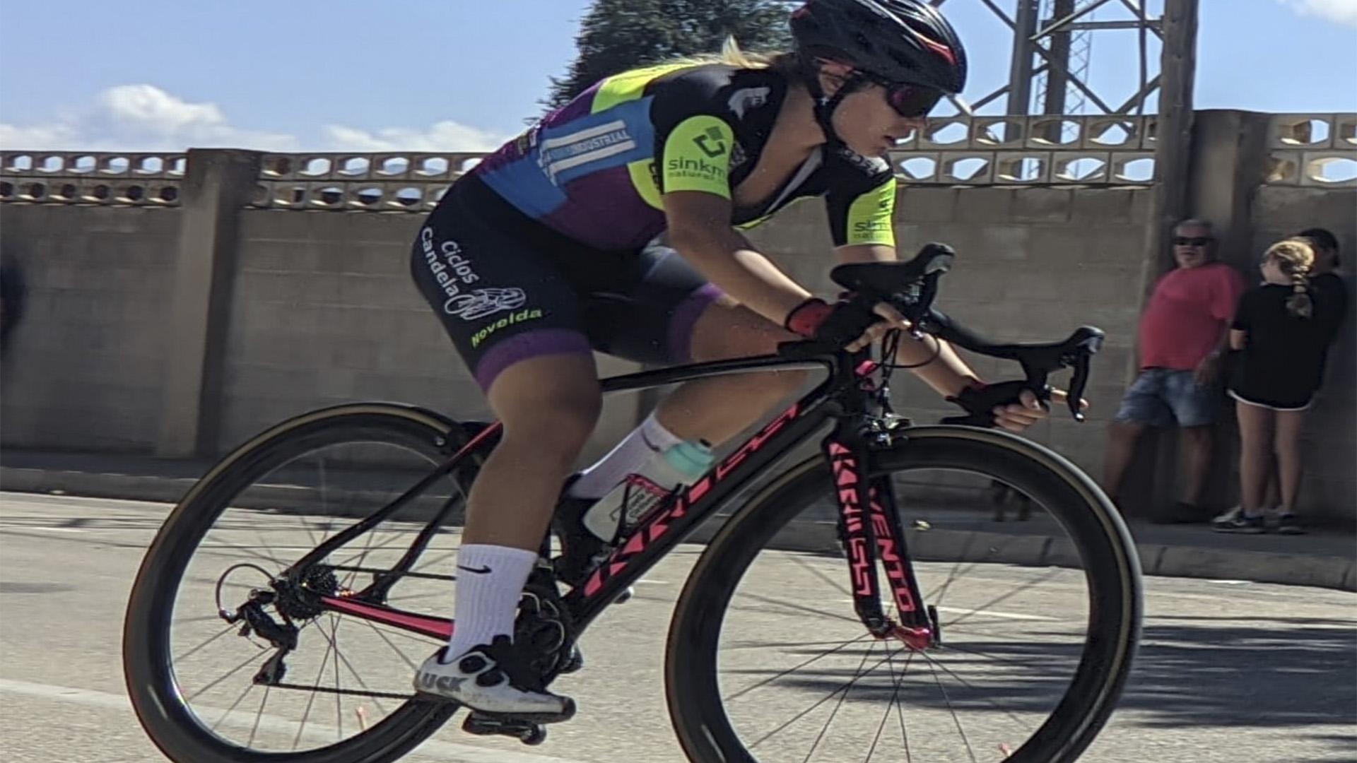 Leyre Toledo se proclamará Campeona Provincial de Ciclismo mañana domingo en en el Trofeo Diputación «Escuelas de Ciclismo»
