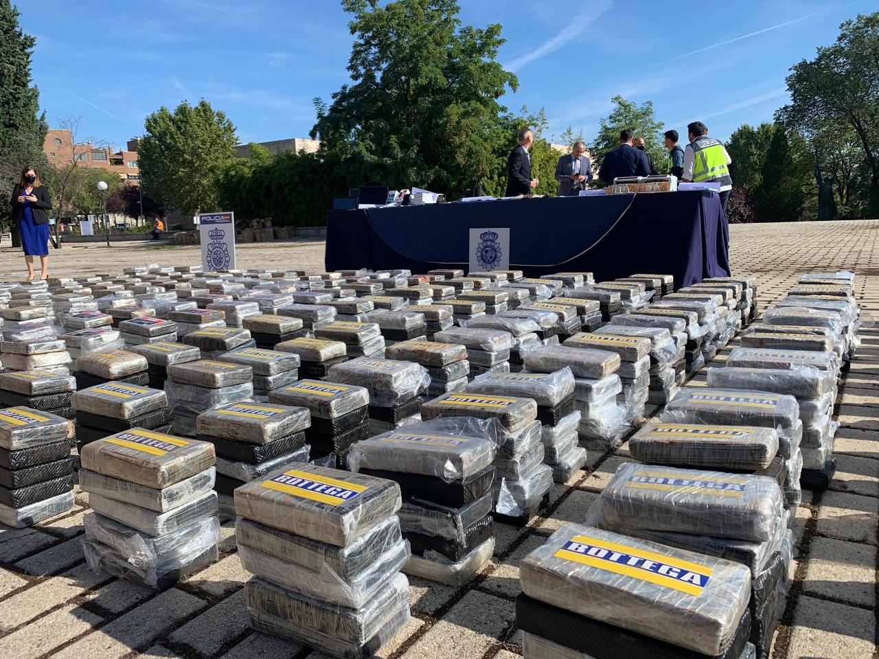 Desarticulada en España la mayor red de distribución de cocaína de Europa