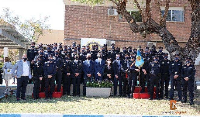 Hoy felicitamos a la Policía Local por la festividad de su patrón, los Santos Ángeles Custodios