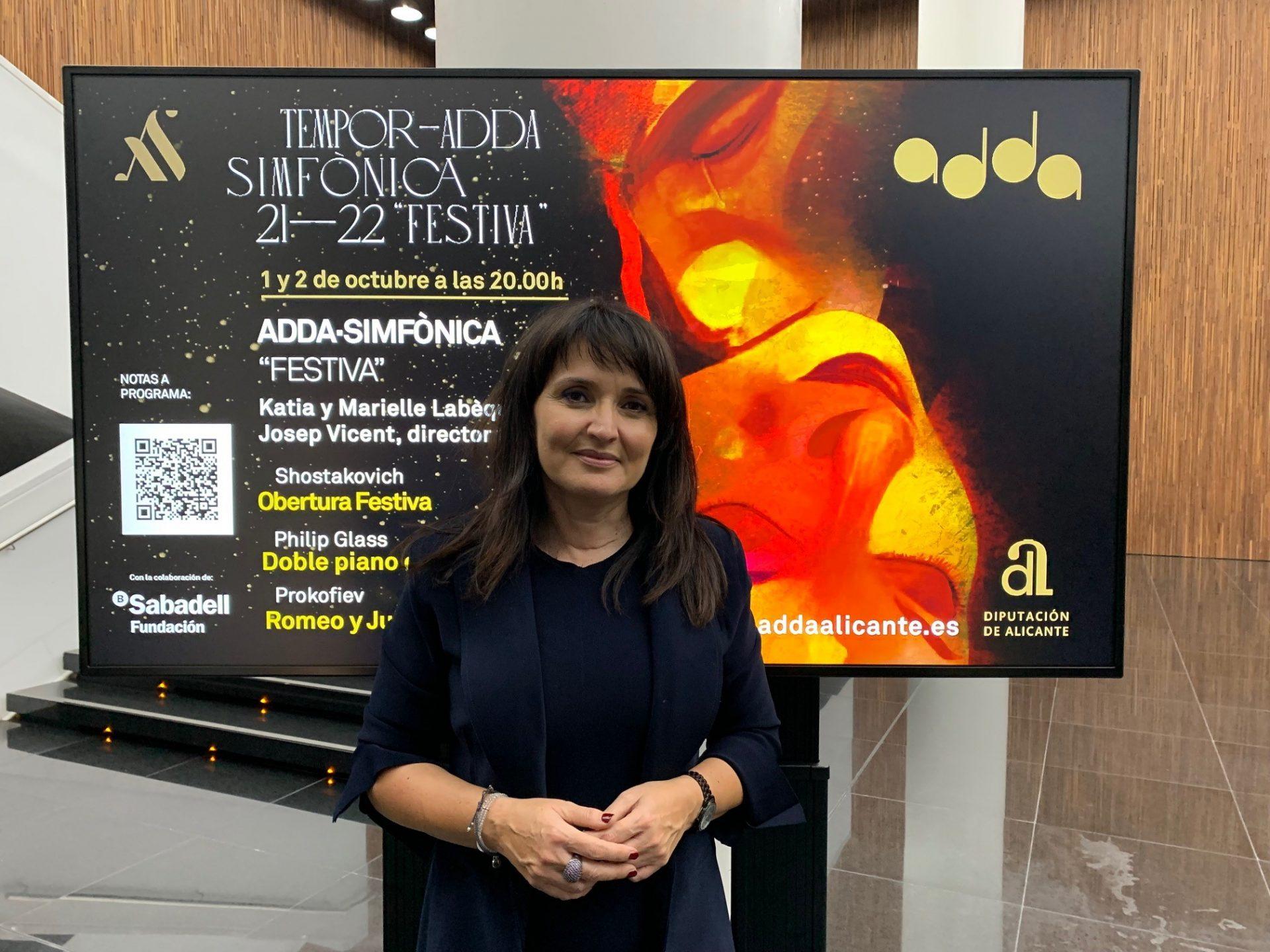 La nueva temporada sinfónica del ADDA arranca con 'Festiva' y el dúo de piano de las hermanas Labéque