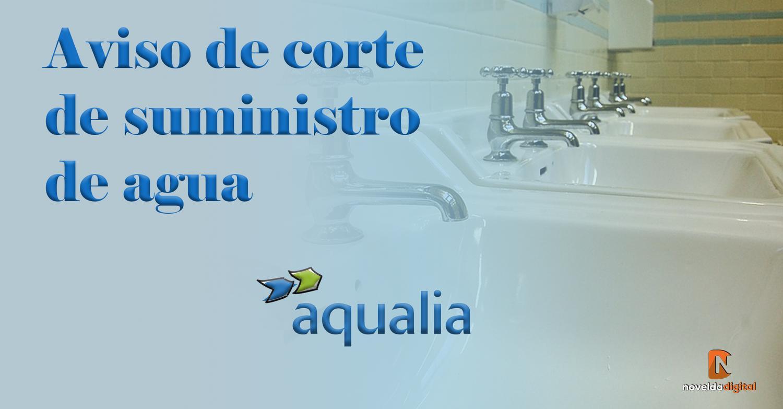 Resuelta la avería que provocó la falta de suministro de agua en Novelda