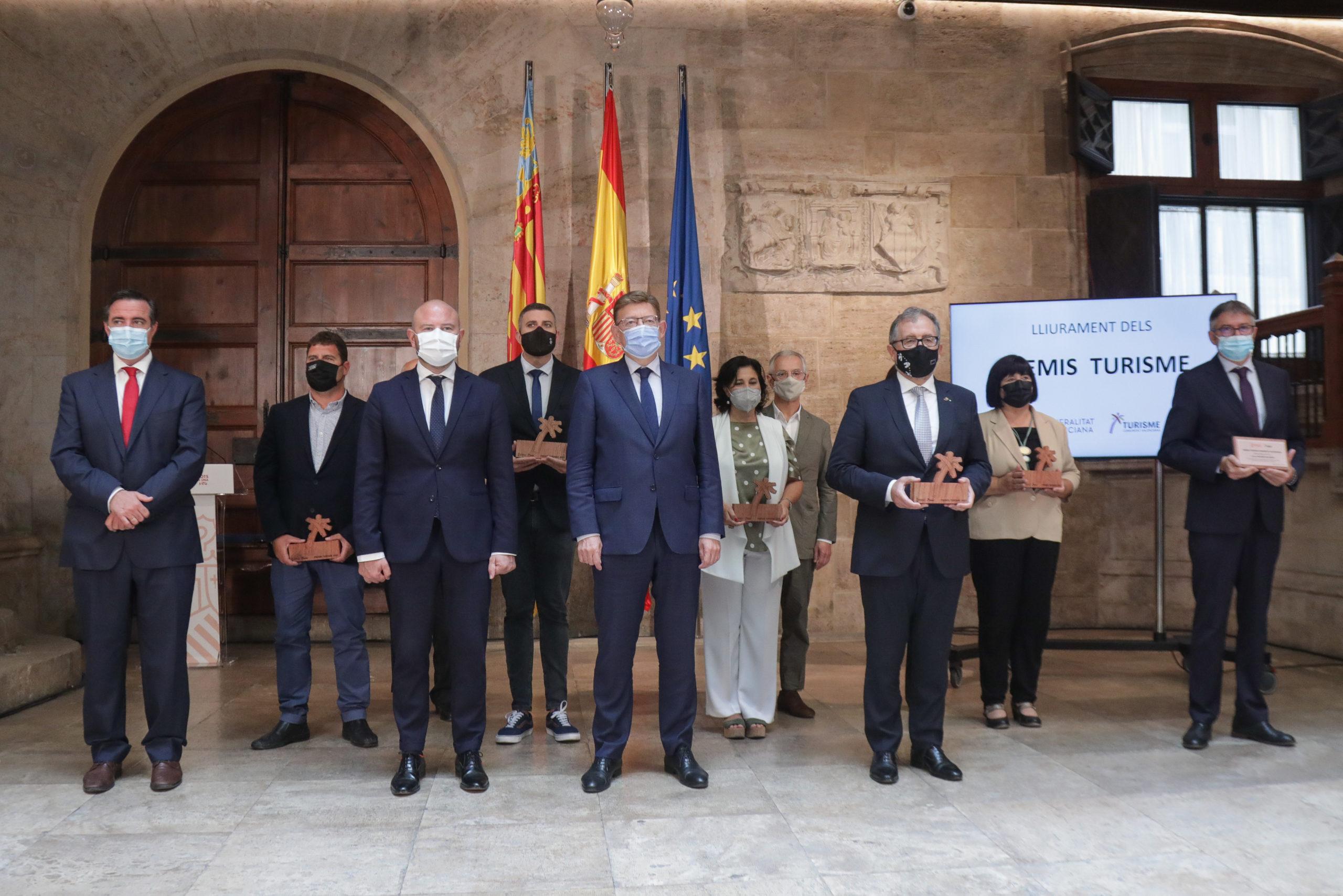 Ximo Puig anuncia 150 millones de euros en fondos europeos para apoyar la transición verde y sostenible, la digitalización y la mejora de la competitividad del sector turístico