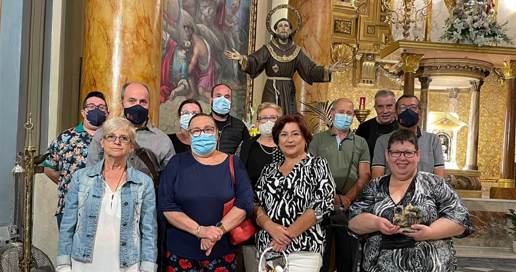 La Asociación de Belenistas de Novelda ha celebrado el día de su patrón, San Francisco de Asís