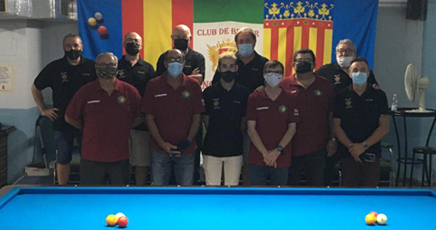 El Club Billar Novelda estrena nueva equipación y prepara el inicio de la temporada