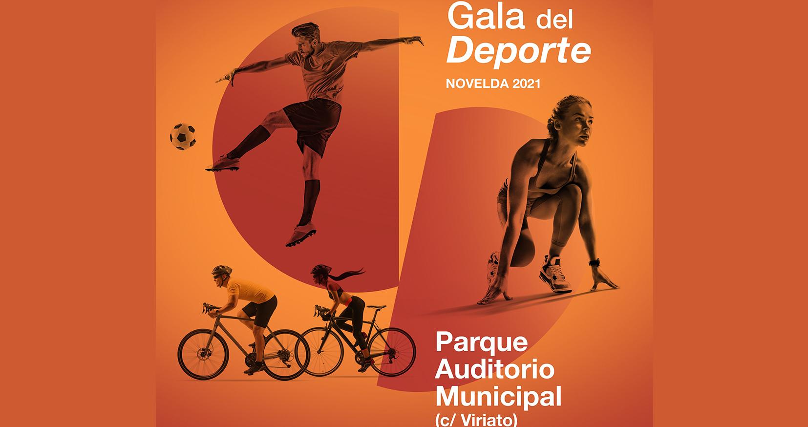 La Gala del Deporte 2021 de Novelda tendrá lugar el próximo sábado 16 de octubre