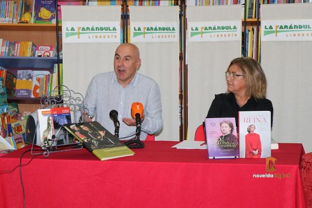 Encuentros Literarios |Silvestre Vilaplana y Carmen Gallardo