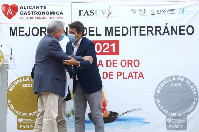 La Diputación se suma al reconocimiento a los mejores vinos del Mediterráneo