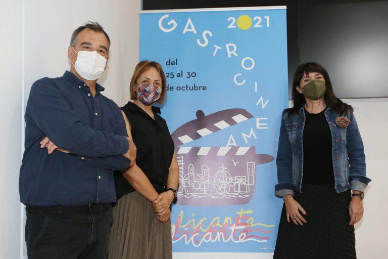 El Premio Gastro Cinema 2021 impulsado por la Diputación de Alicante recae en la chef María José San Román