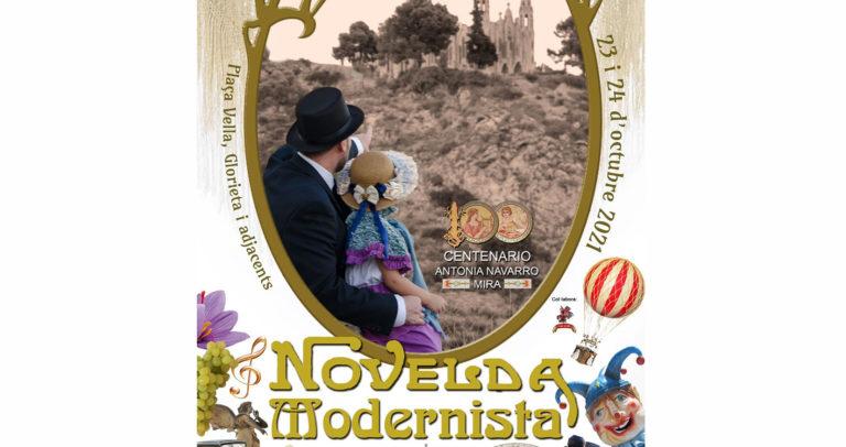 Programación del «finde» modernista en Novelda